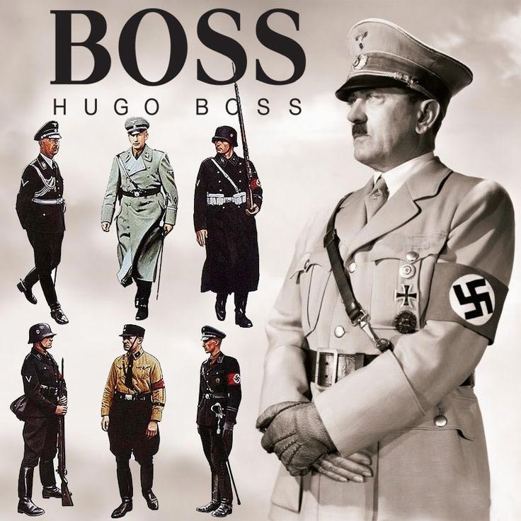 Форма Hugo Boss для немецких солдат