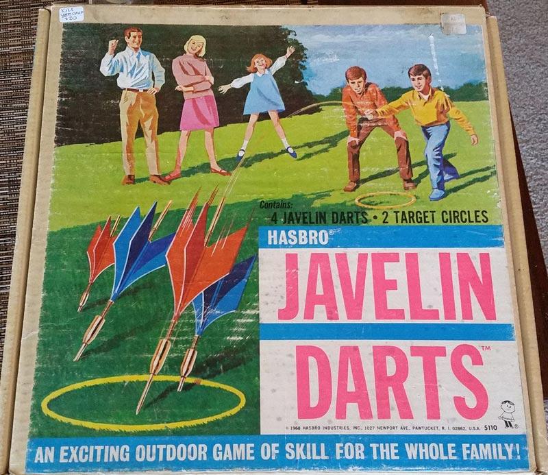 Дартс Javelin Darts Hasbro