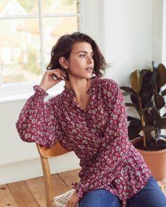 Блуза с цветочным принтом Next