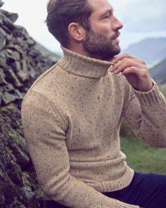 Мужской вязаный свитер Next