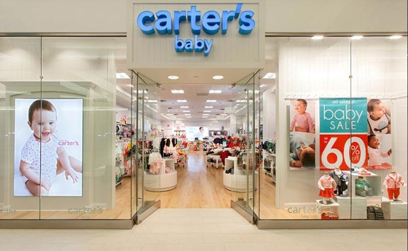 Монобрендовый магазин Carter's