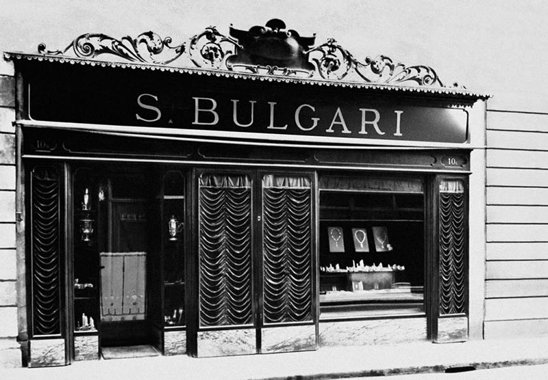 Первый магазин Bulgari