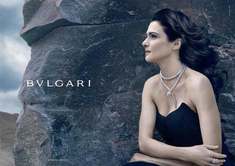 Рэйчел Вайс в рекламе Bulgari