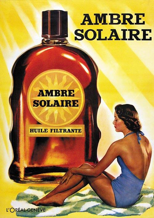 Солнцезащитное масло Ambre Solaire