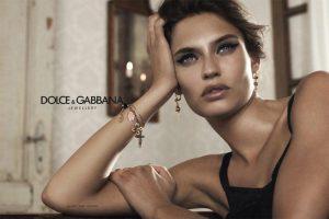 Модель Бьянка Балти в рекламной кампании Dolce & Gabbana