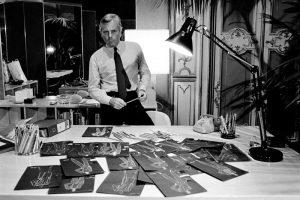 Джорджио Армани работает над первой коллекцией