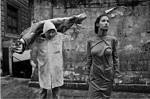 Голландская модель Марпесса для фотосессии Dolce & Gabbana, 1987