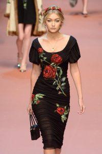 Джиджи Хадид на показе Dolce&Gabbana