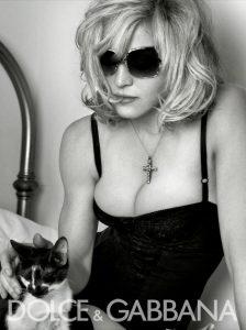 Мадонна в рекламной кампании Dolce & Gabbana
