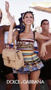 Рекламная кампания купальных костюмов Dolce&Gabbana