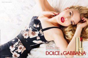 Скарлетт Йоханссон в рекламе косметики Dolce & Gabbana