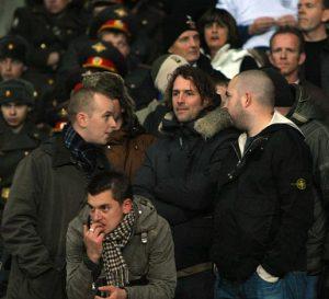 Британские футбольные фанаты