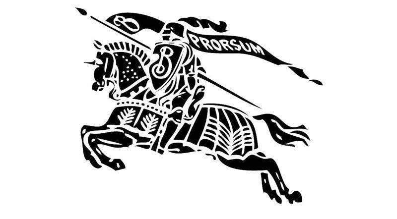 Логотип Burberry
