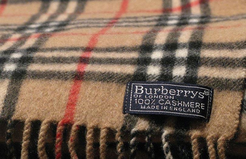 burberry страна производитель