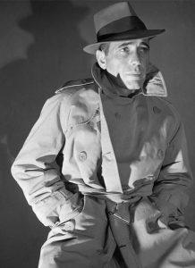 Хамфри Богарт в тренче Burberry
