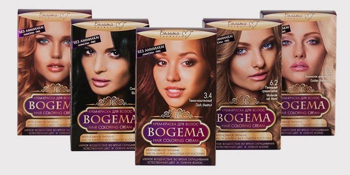 Белита-М серия красок для волос BOGEMA