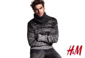 Джон Кортахарена в рекламной кампании H&M