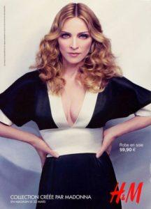 Мадонна в рекламной кампании H&M