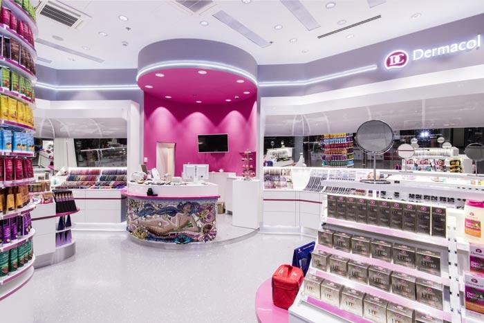 Магазин Dermacol в Праге
