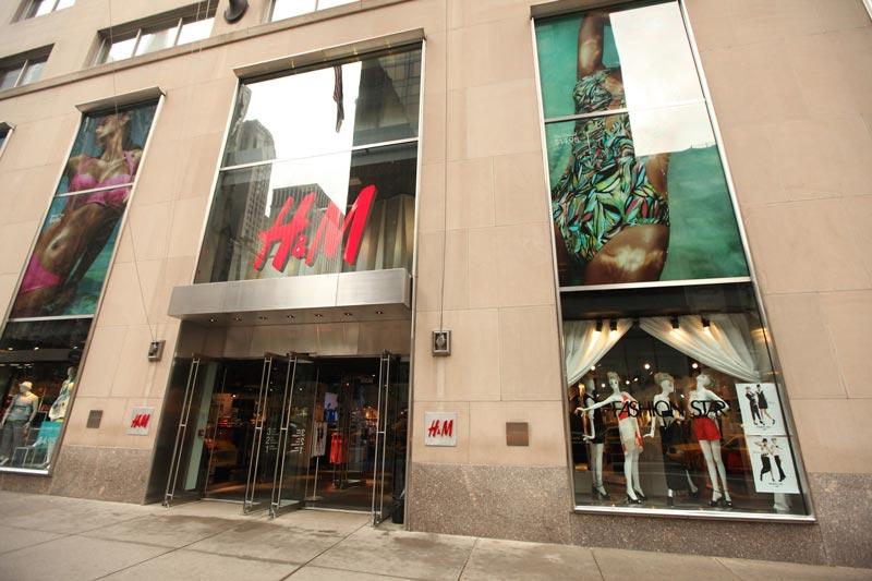 Первый магазин на Пятой авеню в Нью-Йорке