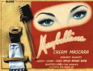 Первая тушь для ресниц Maybelline