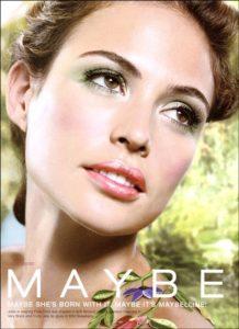 Джози Маран в рекламной кампании Maybelllne