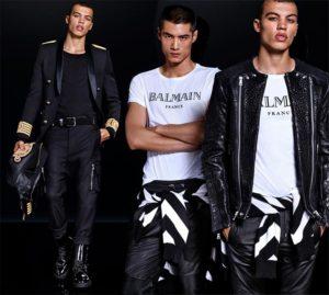 Совместная коллекция H&M и Оливье Рустена