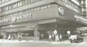 Первый магазин Hennes & Mauritz