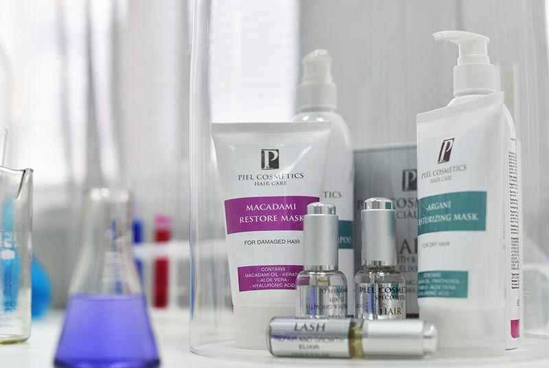 Ассортимент Piel Cosmetics