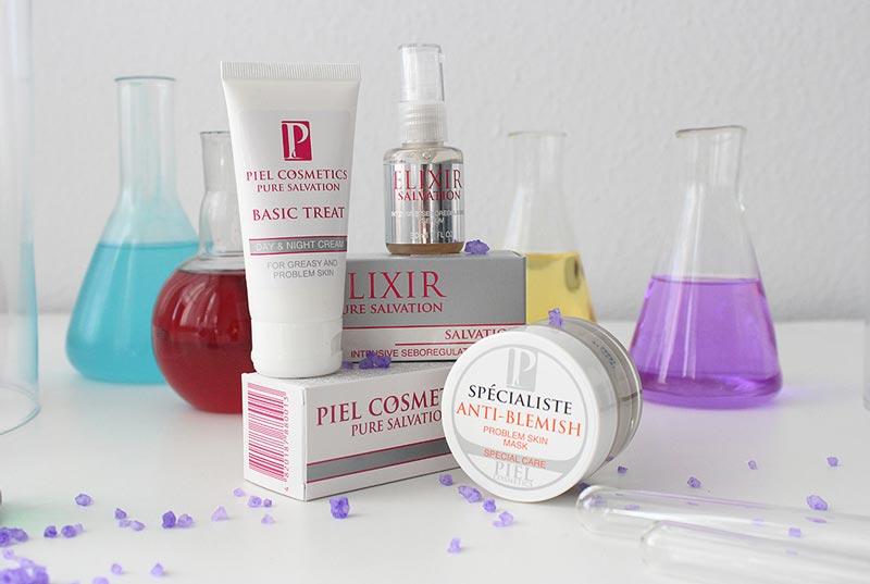 Ассортимент продукции Piel Cosmetics