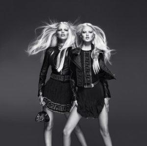 Коллекция одежды от H&M и Versace