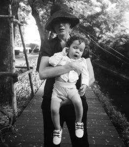 Анна Дюжник с сыном