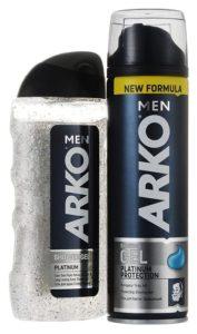 Ассортимент продукции ARKO Men