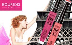 Прозрачный блеск для губ с мятой Bourjois Gloss Menthol