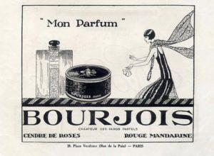 Ретро реклама духов Mon Parfum
