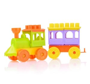 Конструктор-паровозик Maximus Toys