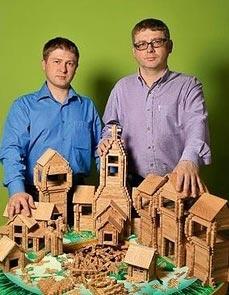 Основатели бренда Igroteco Олег и Николай Купины