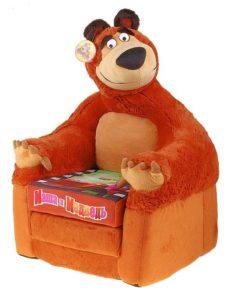 Кресло Маша и Медведь «СмолТойс»