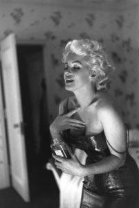 Мэрилин Монро в рекламе Chanel № 5