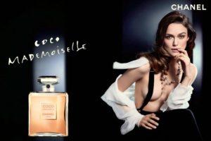 Кира Найтли в рекламе духов Coco Mademoiselle