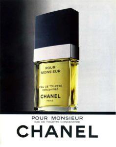 Первый мужской аромат от Chanel — Pour Monsieur