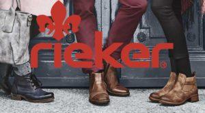 Реклама обуви Rieker
