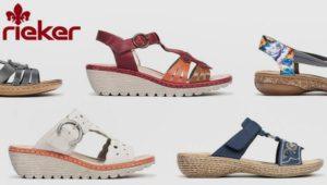 Реклама женской обуви Rieker