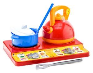 Набор посуды «Юная хозяюшка» BAMSIC