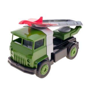 Военный автомобиль с беспилотником
