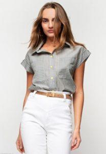 Рубашка-блузка в желтую полоску Urban Streets