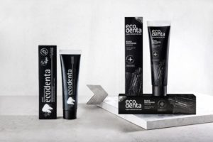 Зубная паста Ecodenta Black Whitening