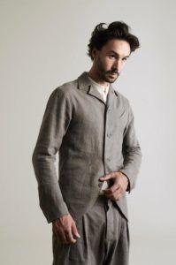 Серый пиджак Infundibulum