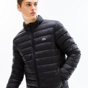 Куртка мужская чёрная Lacoste