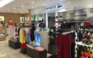 Фирменный магазин Lacoste